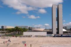 Brasilianischer Nationalkongreß Stockbilder