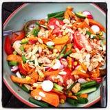 Brasilianischer Salat Stockbilder