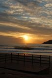 Brasilianischer Sonnenaufgang Lizenzfreies Stockfoto