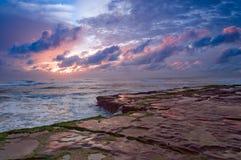 Brasilianischer Sonnenaufgang Lizenzfreie Stockfotografie