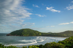 Brasilianischer Strand Lizenzfreie Stockfotos