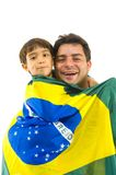 Brasilianischer Support Stockfotos
