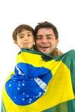 Brasilianischer Support Stockfotos