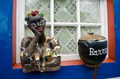 Brasilianisches baiana Stockbild