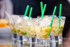 Brasilianisches Cocktail Stockbild