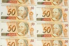 Brasilianisches Geld lizenzfreies stockbild