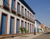 Brasilianisches historisches Gebäude Stockbild