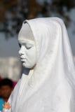 Brasilianisches Mädchen gekleidet als Heiliges Lizenzfreies Stockbild