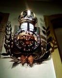 Brasilianisches Wappen Skulpturinitiale stockfotografie