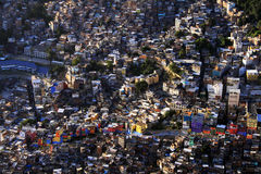 brasiliansk favela Royaltyfri Fotografi