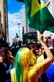 brasiliansk folkmassa Royaltyfri Bild