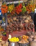 Brasiliansk fruktmarknad Arkivbild