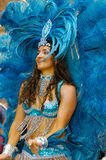 Brasiliansk karneval. Arkivfoton