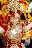 Brasiliansk karneval. Fotografering för Bildbyråer