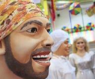 brasiliansk karneval Arkivfoton