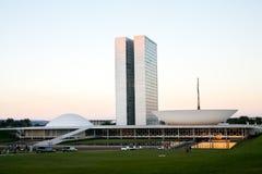 brasiliansk kongressnational arkivfoton
