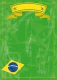 Brasiliansk konstig bakgrund Arkivfoto