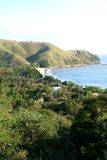 brasiliansk kust Arkivbild