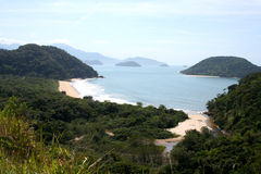 brasiliansk kust Royaltyfri Fotografi