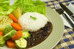 brasiliansk mat Arkivbilder