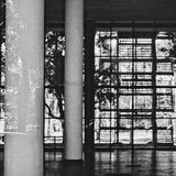 Brasiliansk modernism royaltyfri foto
