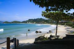 Brasiliansk strand Fotografering för Bildbyråer
