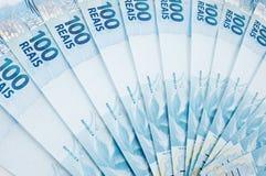 brasiliansk valuta Royaltyfria Foton