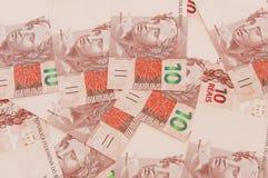 Brasiliansk valuta 10 Arkivfoto