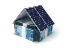 Brasiliansk verklig energi - besparing Arkivbild