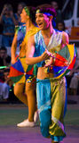 brasilianska dansare Royaltyfri Foto