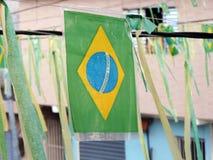 brasilianska färger Arkivbild