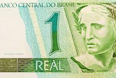 brasilianska pengar royaltyfri foto