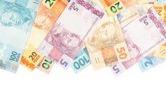 brasilianska pengar Arkivfoton
