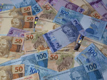 Brasilianska pengar 017 Arkivbild