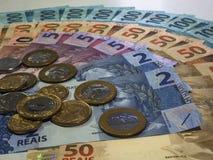 Brasilianska pengar 022 Arkivbilder