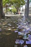 Brasilianska val 2012 - smutsig stad Royaltyfria Bilder