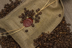 brasilianskt kaffe Royaltyfri Bild