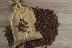 brasilianskt kaffe Arkivfoto