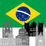 brasilien Lizenzfreies Stockfoto