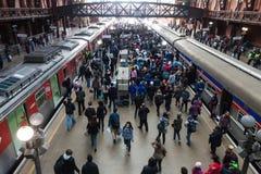 Brasilien-Bahnstation lizenzfreie stockfotografie