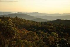 Brasilien berg Royaltyfria Bilder