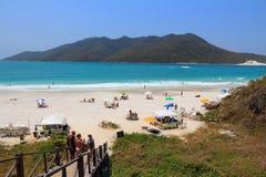 Brasilien - Cabo Frio Stockfotos