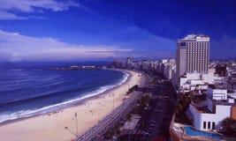 Brasilien: Copacabana i Rio de Janeiro Arkivfoton