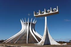 Brasilien-Kathedrale Lizenzfreies Stockfoto