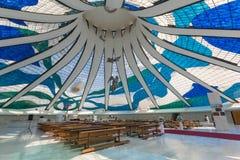 Brasilien-Kathedrale - Brasília - DF - Brasilien stockfotos