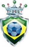 Brasilien-Krone stock abbildung