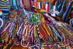 Brasilien och Paraguay textiler stänger sig upp Royaltyfri Bild