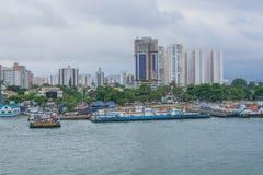 Brasilien port arkivbilder