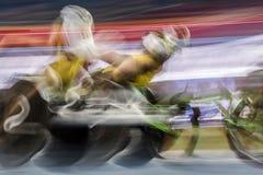 Brasilien - Rio De Janeiro - Paralympic lek 2016 1500 meter friidrott Arkivbild