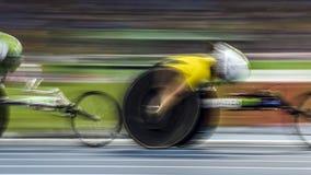 Brasilien- - Rio De Janeiro- - Paralympic-Spiel 2016 1500-Meter-Leichtathletik Stockbilder